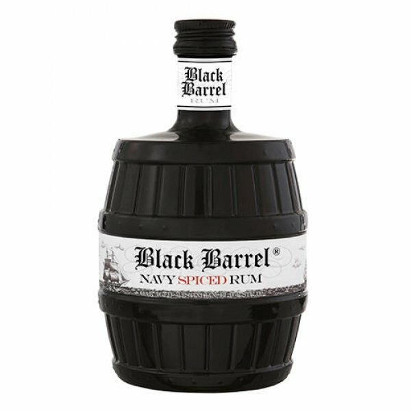 A.H. Riise Black Barrel Premium Navy Spiced Rum